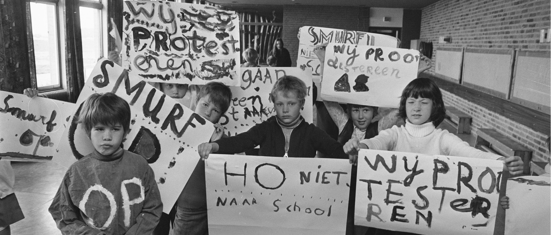 22 mei 1970. Schoolstaking in Amsterdam